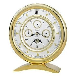 Bulova Millenia Multi-function Table Clock
