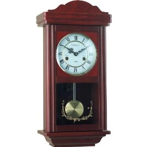 Kassel 15 Day Wood Wall Pendulum Clock