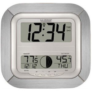 La Crosse Technology Atomic Digital Wall Clock